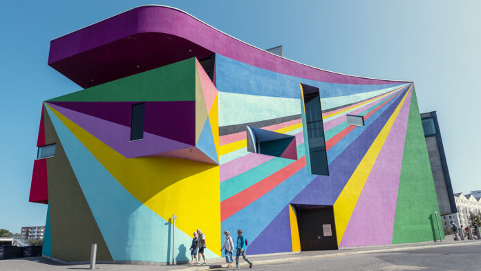 Colourful Building Museum Eastbourne